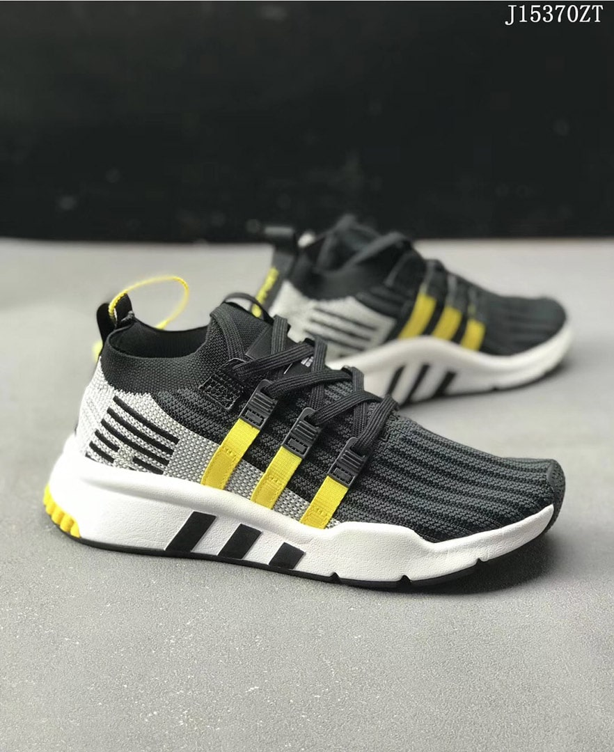Adidas EQT SUPPORT MID ADV PK 3 COLORS GREY BLACK WHITE